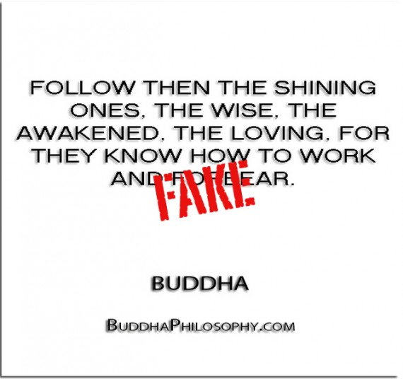 Follow Then The Shining Ones, The Wise, The Awakened, The Loving… - Buddha
