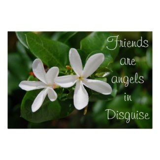 Friends Are Angels In Disguise.