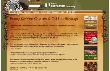 Funny Coffee Quotes & Sayings