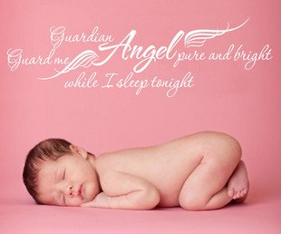 Guardian Angel Guard Me Pure And Bright While I Sleep Tonight.