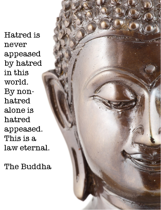 Hatred Is Never Appeased By Hatred In This World. By Non-Hatred Alone Is Hatred Appeased. This Is A Law Eternal. - The Buddha