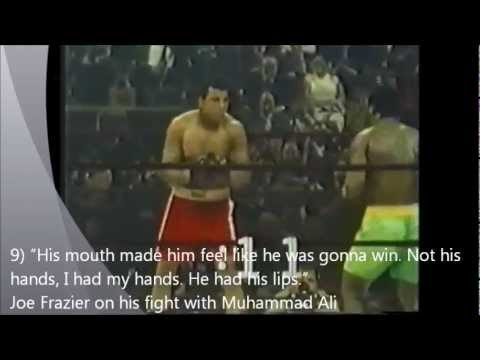 """"""" His Mouth Made Him Feel Like He Was Gonna Win. Not His Hands, I Had My Hands.  He Had His Lips. """" ~ Boxing Quotes"""