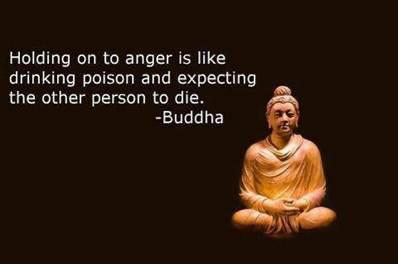 Holding On To Anger Is Like Drinking Poison And Expecting The Other Person To Die. - Buddha