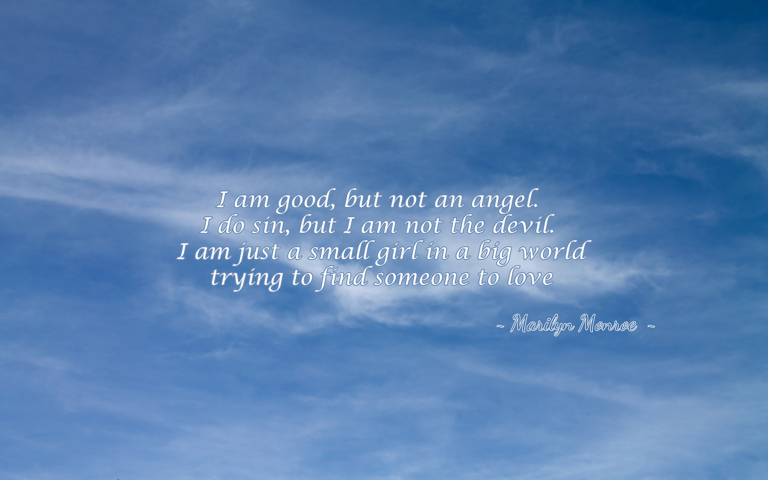 I Am A Good Person Quotes: Angel And Devil Quotes. QuotesGram