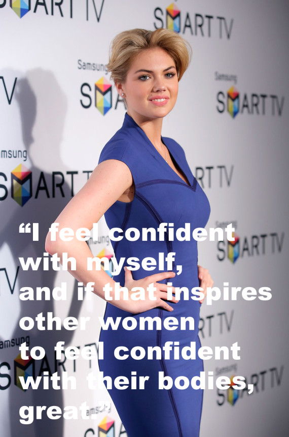 """"""" I Feel Confident With Myself, And If That Inspires Other Women To Feel Confident With Their Bodies, Great. """""""