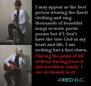 I May Appear As The Best Person Wearing The Finest Clothing And Sing Thousands Of Beautiful Songs Or Write Poetic Poems…