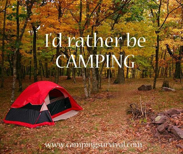 I'd Rather Be Camping.