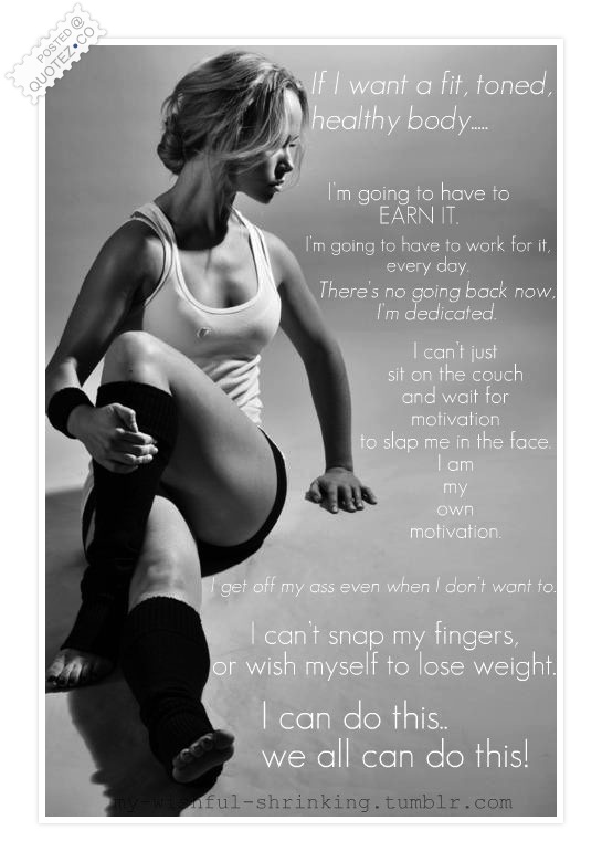 If I Want A Fit Toned Healthy Body…