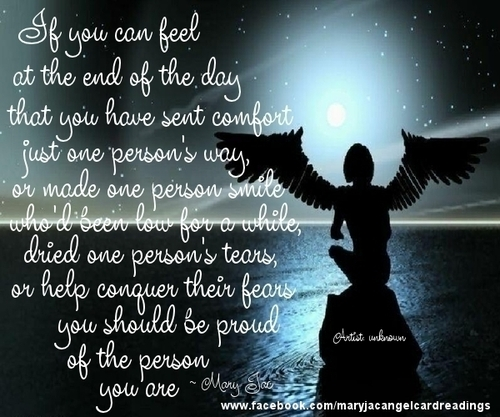 End Of Life Quotes Inspirational: Angel Quotes For Facebook. QuotesGram