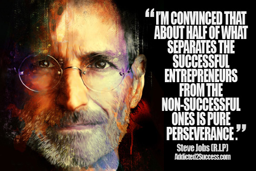 Im Convinced That About Half Of What Separates The Successful