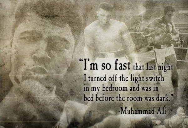 Boxing quotes pictures and boxing quotes images with - Who was in my room last night live ...