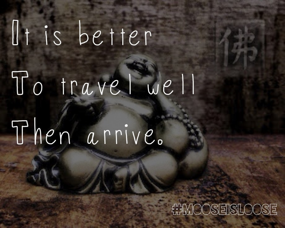 It Is Better To Travel Well Then Arrive. ~ Buddhist Quotes