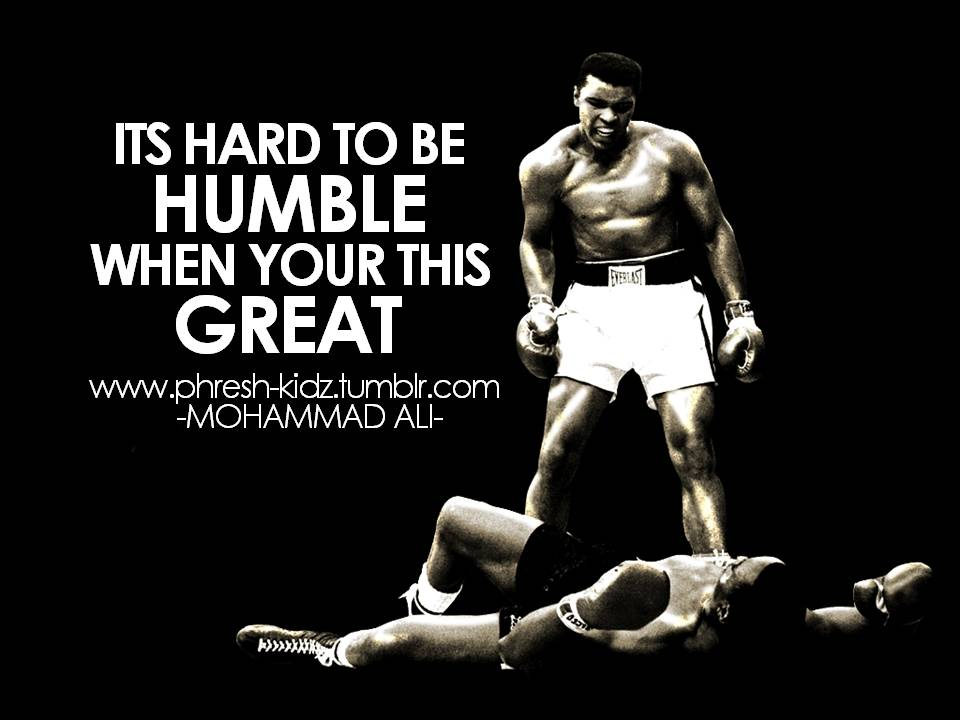 Muhammad Ali Boxing Quotes Motivational