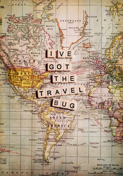 I've Got The Travel Bug. ~ Camping Quote