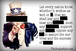 Let Every Nation Know, Whether It Wishes Us Well Or… ~ Censorship Quotes