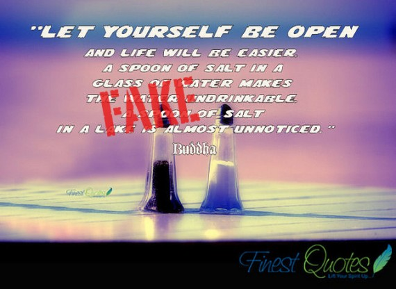 """"""" Let Yourself Be Open… ~ Buddhist Quotes"""