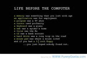 Life Before The Computers