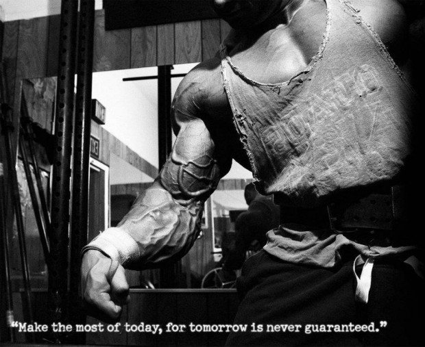 """ Make The Most Of Today, For Tomorrow Is Never Guaranteed """
