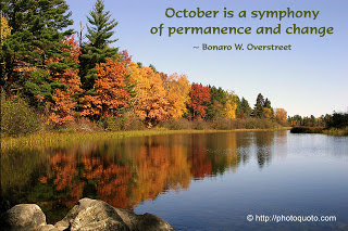 October Is A Symphony Of Permanence And Change.