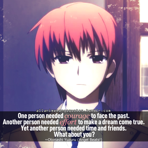 anime quotes about the past
