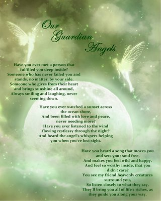 Our Guardian Angel…