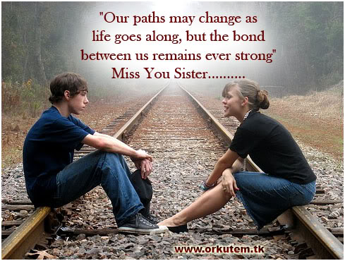 quote about brother and sister relationship change