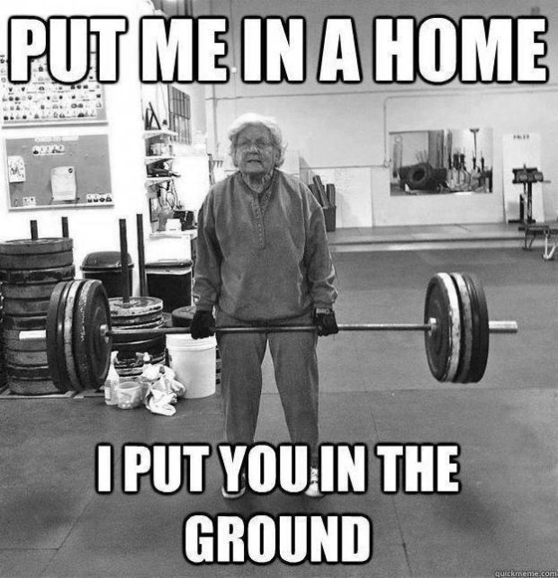 Put Me In A Home I Put You In The Ground. ~ Body Quotes