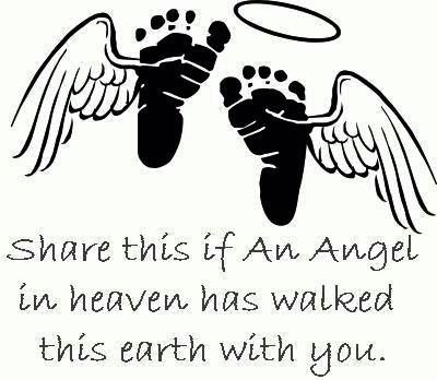 Share This If An Angel In Heaven Has Walked This Earth With You.
