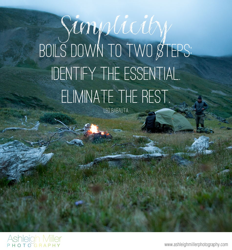 Simplicity, Boils Down To Two Steps Identify The Essential Eliminate The Rest.