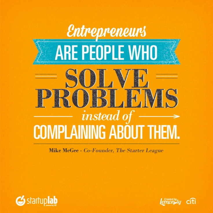 Solve Problems Instead Of Complaining About Them.