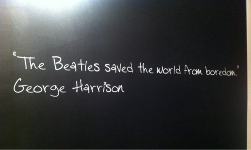 ' The Beatles Saved The World From Boredom ' - George Harrison
