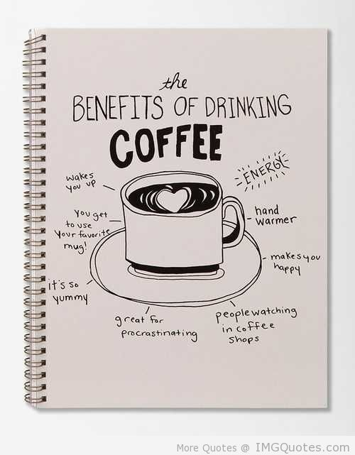 the benefits of drinking coffee com