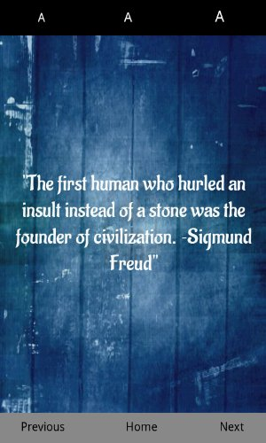 The First Human Who Hurled An Insult Instead Of A Stone Was The Founder Of Civilization. - Sigmund Freud