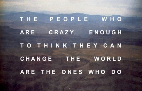 The People Who Think They Are Crazy Enough