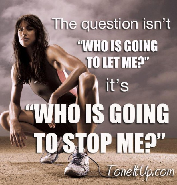 """The Question Isn't """" Who Is Going To Let Me, It's """"Who Is Going To Stop Me """""""