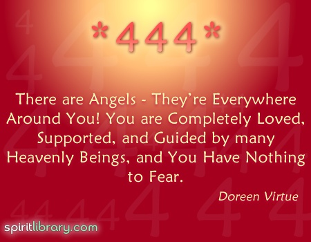 There Are Angels, They're Everywhere Around You, You Are Completely Loved, Supported, And Guided By Many Heavenly Beings, And You Have Nothing To Fear. - Doreen Virtue