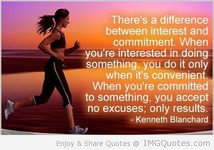 There's A Difference Between Interest And Commitment. When You're Interested In Doing Something…. - Kenneth Blanchard