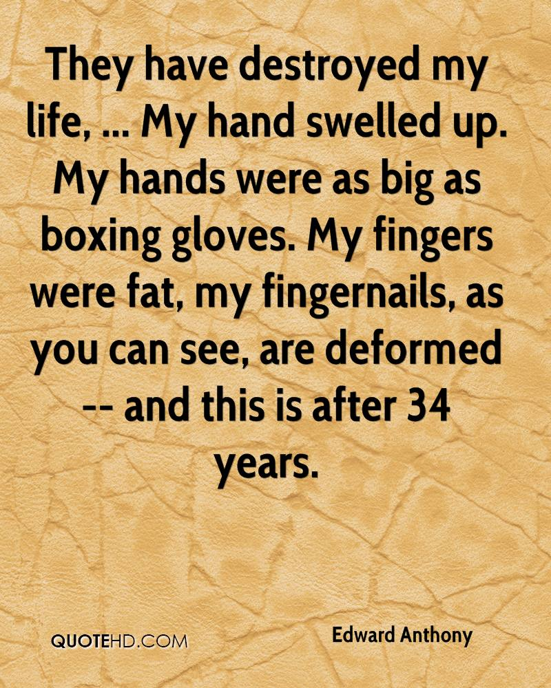 boxing is my life From tony danza quotes: boxing changed my life it's like a drug you can't believe how great it is let me tell you something, you hit somebody on the chin.