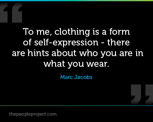 Quotes About Self Expression. QuotesGram