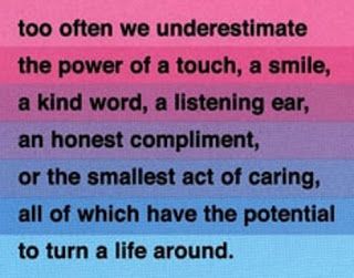 Too Often We Underestimate The Power of Touch