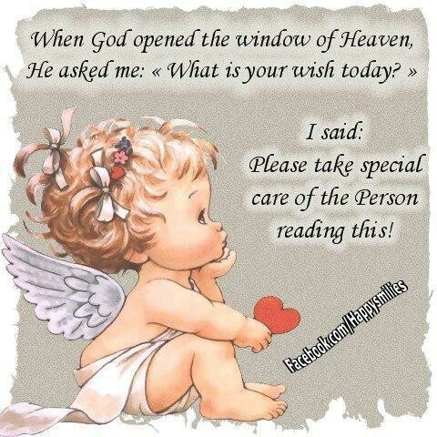 """When God Opened The Window Of Heaven, He Asked Me, What Is Your Wish Today """""""