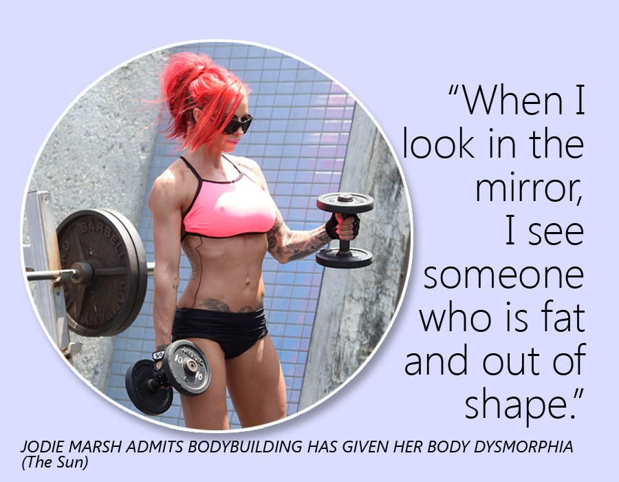 """ When I Look In The Mirror, I See Someone Who Is Fat And Out Of Shape "" ~ Body Quotes"