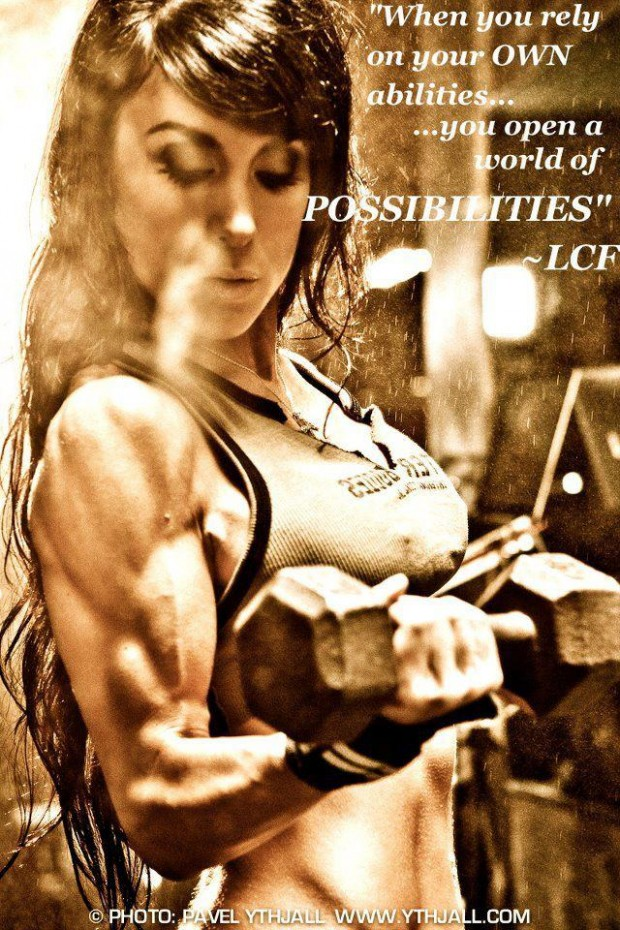 """"""" When You Rely On Your Own Abilities You Open A World Of Possibilities """" - LCF"""