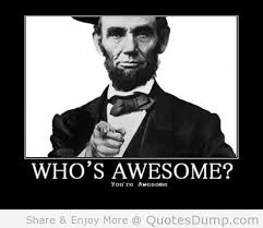 Who's Awesome! You're Awesome