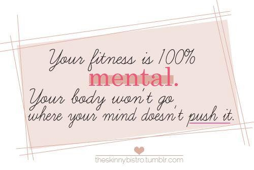 Your Fitness Is 100% Mental. Your Body Won't Go Where Your Mind Doesn't Push It.