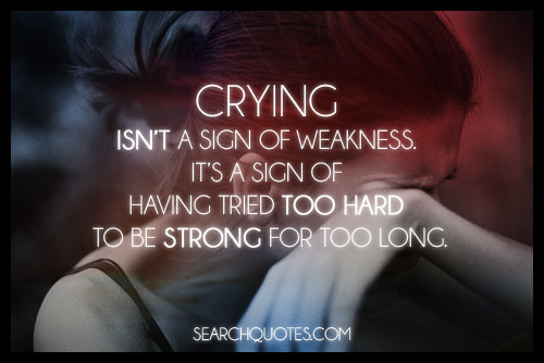crying quotes images sayings about emotions pictures