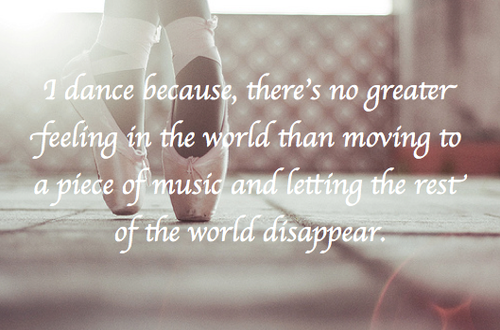 ... World Than Moving To a Place Of Music And Letting The Rest' Of The
