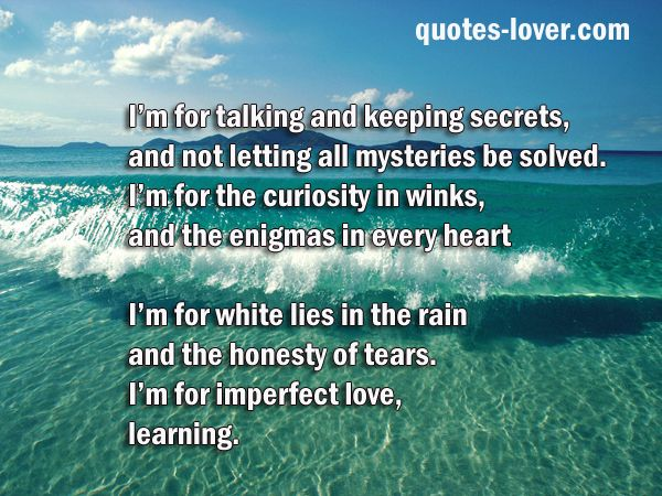 Keeping Secrets In A Relationship Quotes: Keeping Secrets Quotes And Sayings. QuotesGram
