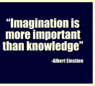 """imagination is important than knowledge essay Is imagination more important than knowledge albert einstein certainly thought so he said: """"i'm enough of an artist to draw freely on my imagination, which i think is more important than knowledge."""