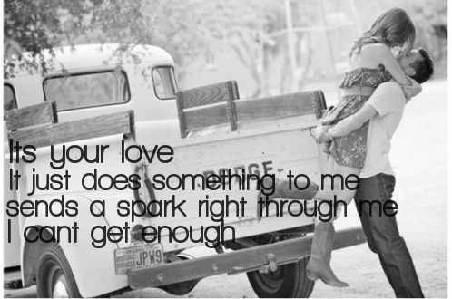 your love does something to me